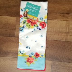 Pioneer Woman Kitchen Towels Spring Bouquet 2pk